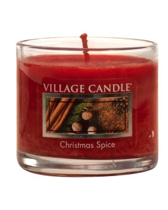 Mini Glass Votive Christmas Spice