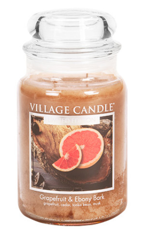 Jar Large 626 g Grapefruit Ebony Bark LE