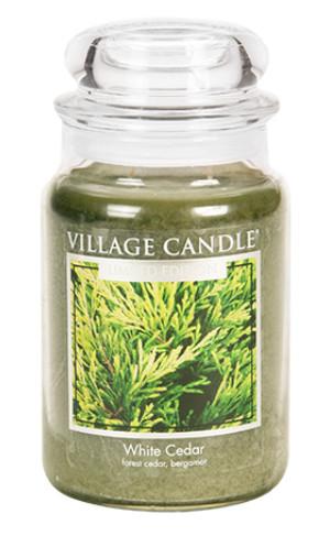 Jar Large 602 g White Cedar LE